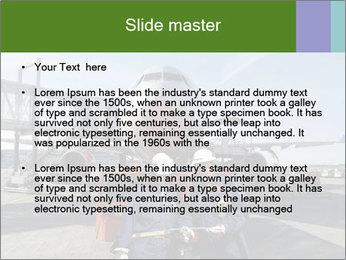 Airplane Industry PowerPoint Template - Slide 2