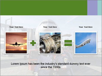 Airplane Industry PowerPoint Template - Slide 22
