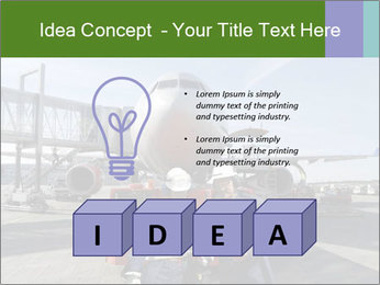 Airplane Industry PowerPoint Template - Slide 80