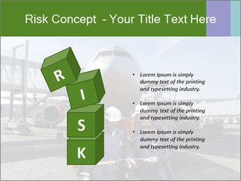 Airplane Industry PowerPoint Template - Slide 81