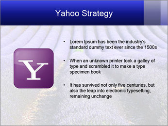 Purple Lavander Field PowerPoint Template - Slide 11