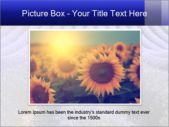 Purple Lavander Field PowerPoint Template - Slide 16