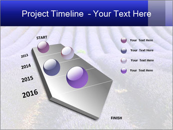 Purple Lavander Field PowerPoint Template - Slide 26