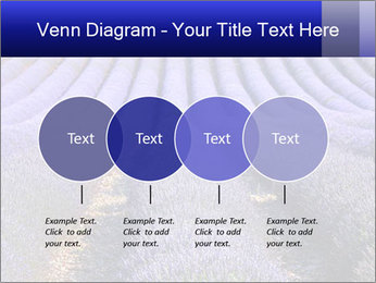 Purple Lavander Field PowerPoint Template - Slide 32
