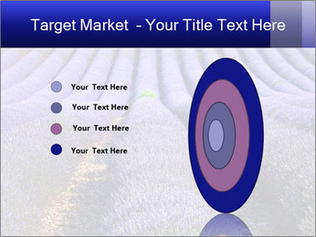 Purple Lavander Field PowerPoint Template - Slide 84