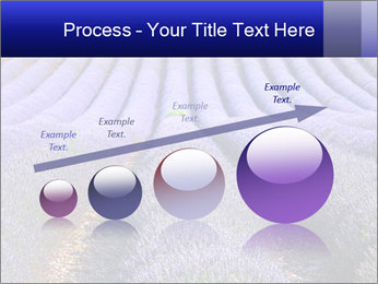 Purple Lavander Field PowerPoint Template - Slide 87