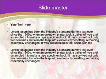 Best Female Friends PowerPoint Template - Slide 2
