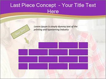 Best Female Friends PowerPoint Template - Slide 46