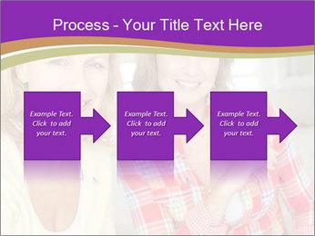 Best Female Friends PowerPoint Template - Slide 88