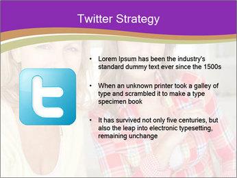 Best Female Friends PowerPoint Template - Slide 9