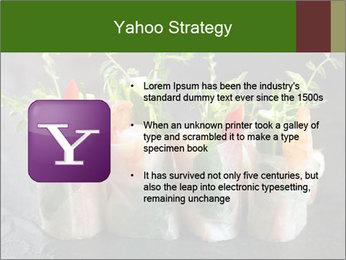 Spring Rolls PowerPoint Template - Slide 11