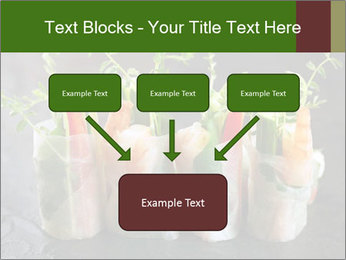 Spring Rolls PowerPoint Template - Slide 70