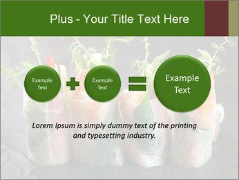 Spring Rolls PowerPoint Template - Slide 75