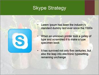 Spring Rolls PowerPoint Template - Slide 8