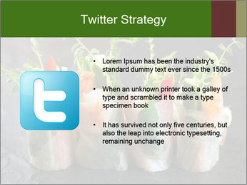 Spring Rolls PowerPoint Template - Slide 9