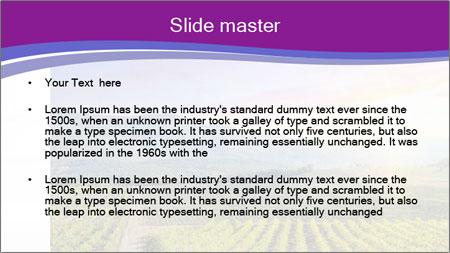 Beautiful Valley PowerPoint Template - Slide 2