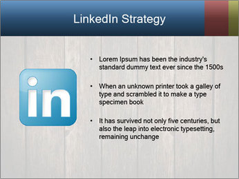 Grunge Wooden Surface PowerPoint Template - Slide 12
