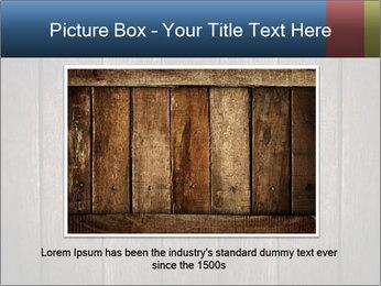 Grunge Wooden Surface PowerPoint Template - Slide 15
