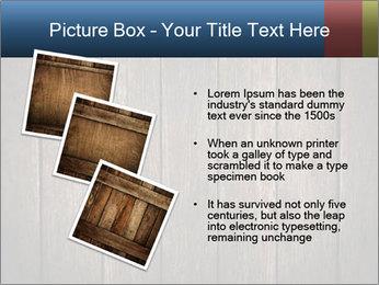 Grunge Wooden Surface PowerPoint Template - Slide 17