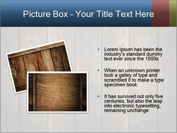 Grunge Wooden Surface PowerPoint Template - Slide 20