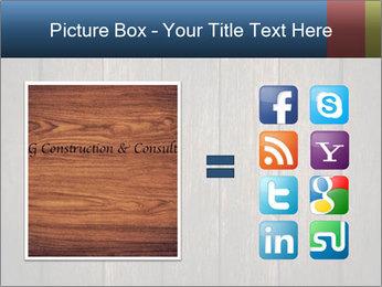 Grunge Wooden Surface PowerPoint Template - Slide 21