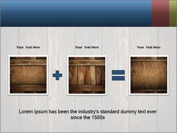 Grunge Wooden Surface PowerPoint Template - Slide 22
