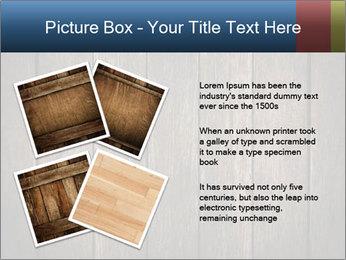 Grunge Wooden Surface PowerPoint Template - Slide 23