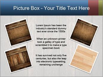 Grunge Wooden Surface PowerPoint Template - Slide 24