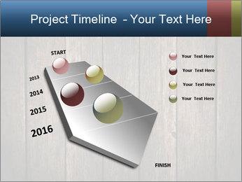 Grunge Wooden Surface PowerPoint Template - Slide 26