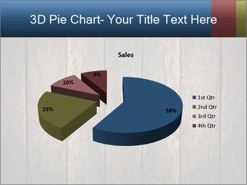 Grunge Wooden Surface PowerPoint Template - Slide 35