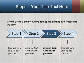 Grunge Wooden Surface PowerPoint Template - Slide 4