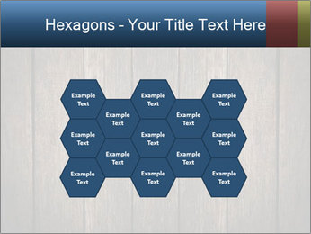 Grunge Wooden Surface PowerPoint Template - Slide 44