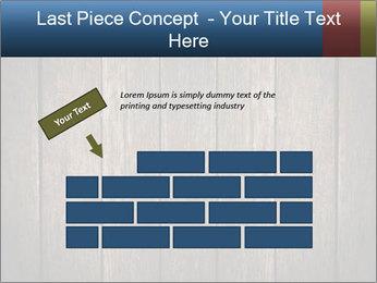 Grunge Wooden Surface PowerPoint Template - Slide 46