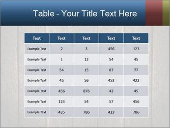 Grunge Wooden Surface PowerPoint Template - Slide 55