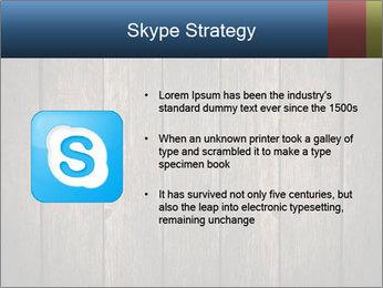 Grunge Wooden Surface PowerPoint Template - Slide 8