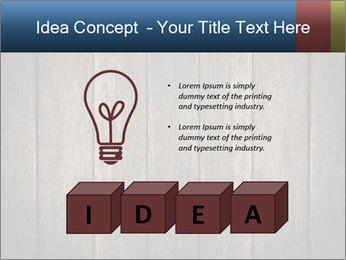 Grunge Wooden Surface PowerPoint Template - Slide 80