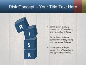 Grunge Wooden Surface PowerPoint Template - Slide 81