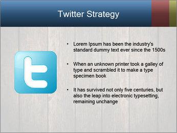 Grunge Wooden Surface PowerPoint Template - Slide 9