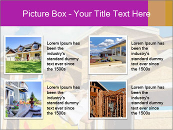 Finished House Construction PowerPoint Template - Slide 14