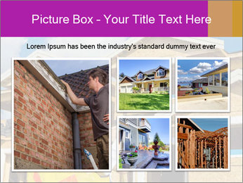 Finished House Construction PowerPoint Template - Slide 19