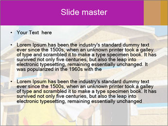 Finished House Construction PowerPoint Template - Slide 2
