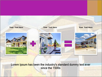 Finished House Construction PowerPoint Template - Slide 22