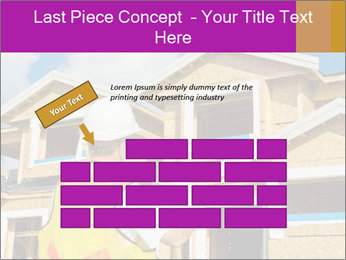 Finished House Construction PowerPoint Template - Slide 46