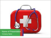 First Aid Box PowerPoint Template