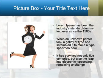 Businesswoman In City PowerPoint Template - Slide 13