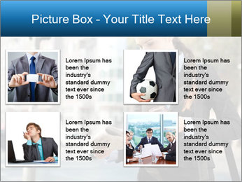 Businesswoman In City PowerPoint Template - Slide 14