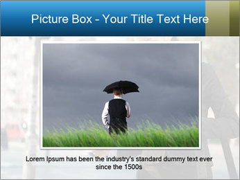 Businesswoman In City PowerPoint Template - Slide 15