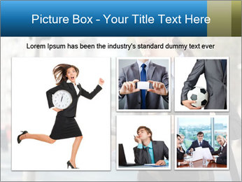 Businesswoman In City PowerPoint Template - Slide 19