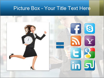 Businesswoman In City PowerPoint Template - Slide 21