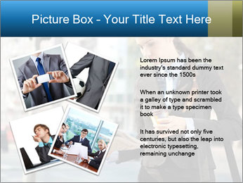 Businesswoman In City PowerPoint Template - Slide 23